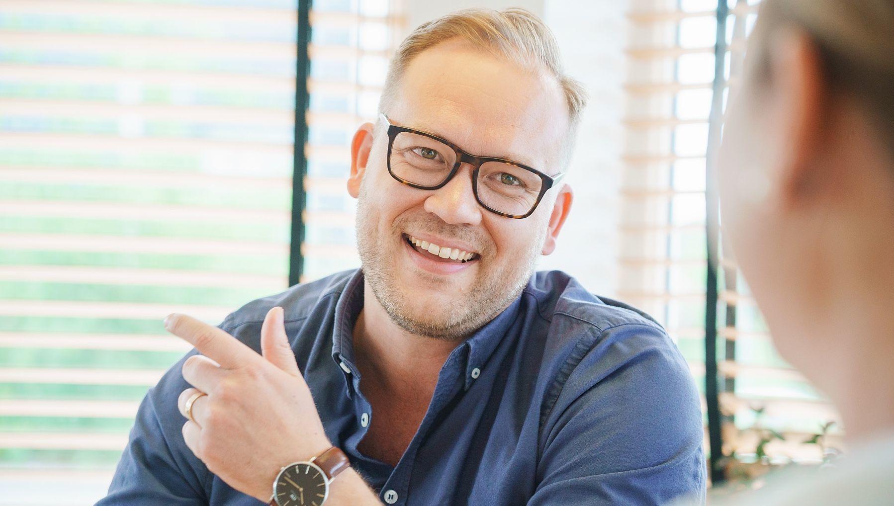 Joakim Winkler, KMA-chef.